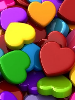 Download Beautiful Hearts Wallpaper