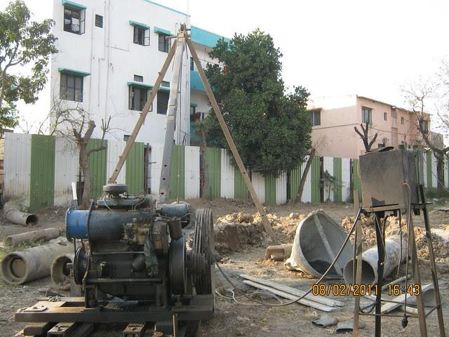Vastushodh's Urbangram - 2 BHK Flat for Rs. 20 Lakhs - at Kondhawe Dhawade - Pune 411 023 - Construction Begins! - Piling of B Building