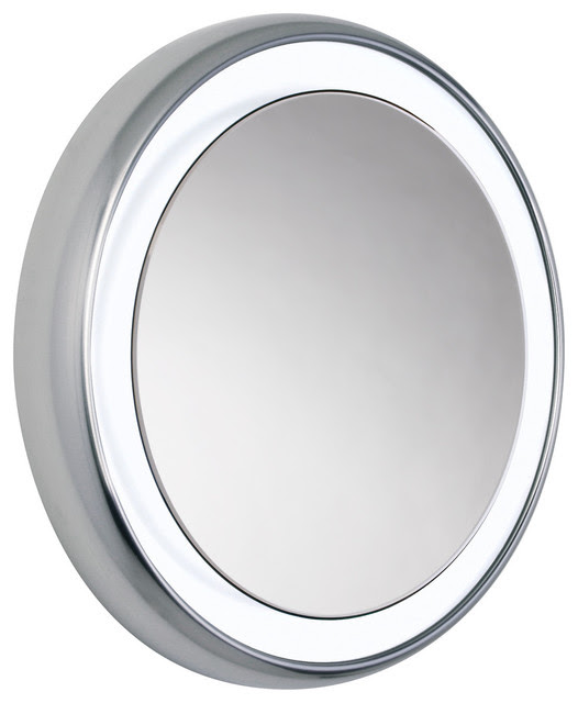 Tigris Round Mirror by Tech Lighting - contemporary - bathroom ...