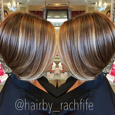 Hairstyles Bob Hairstyles With Highlights And Lowlights
