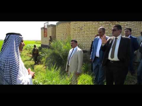 هام : محافظ المثنى الدكتور فالح الزيادي يواصل متابعاته الميدانية للحصة المائية الواصلة للمحافظة