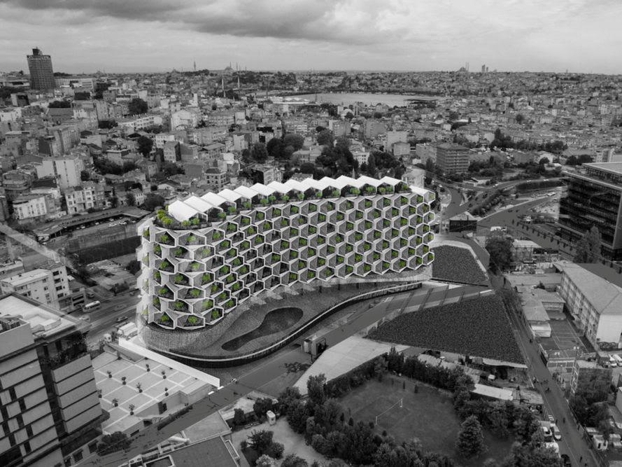 """perierga.gr - """"Πράσινο"""" συγκρότημα διαμερισμάτων στην Κωνσταντινούπολη!"""