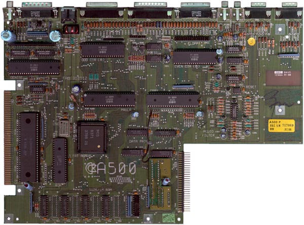 MotherBoard Amiga 500 Rev 6