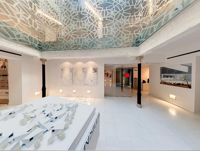 Patio de la Calle Santa Úrsula 11 tras las obras del Colegio de Arquitectos de Castilla-La Mancha