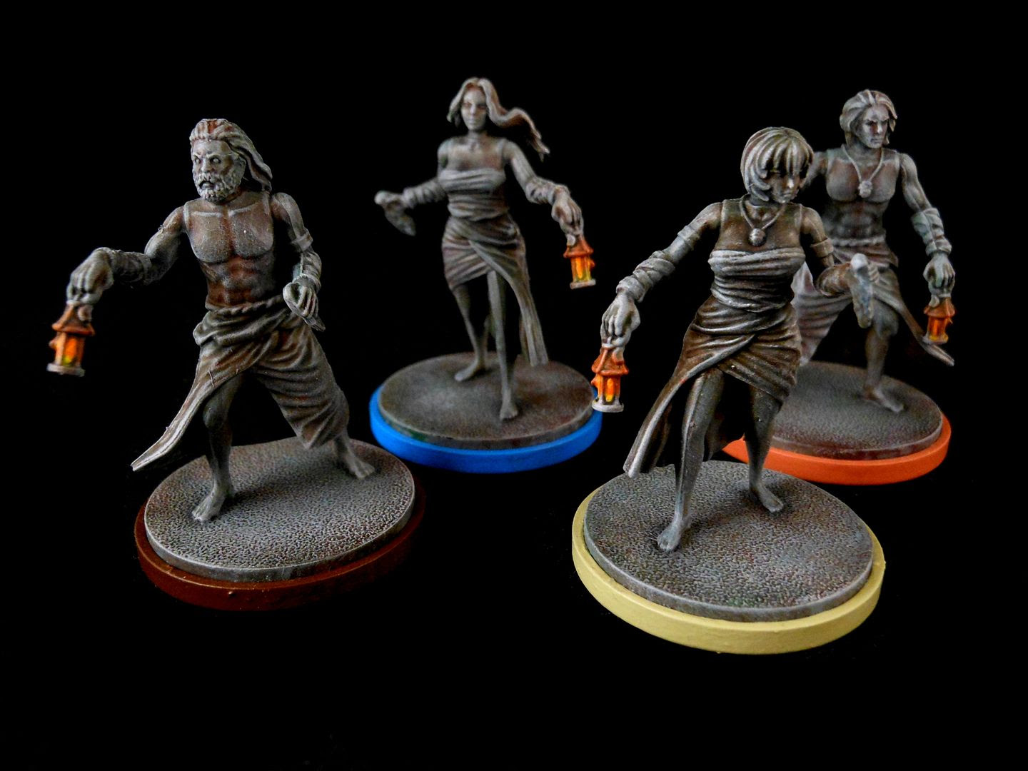 Kingdom Death: Monster painted survivors
