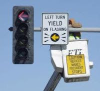 Flashing Yellow Arrow
