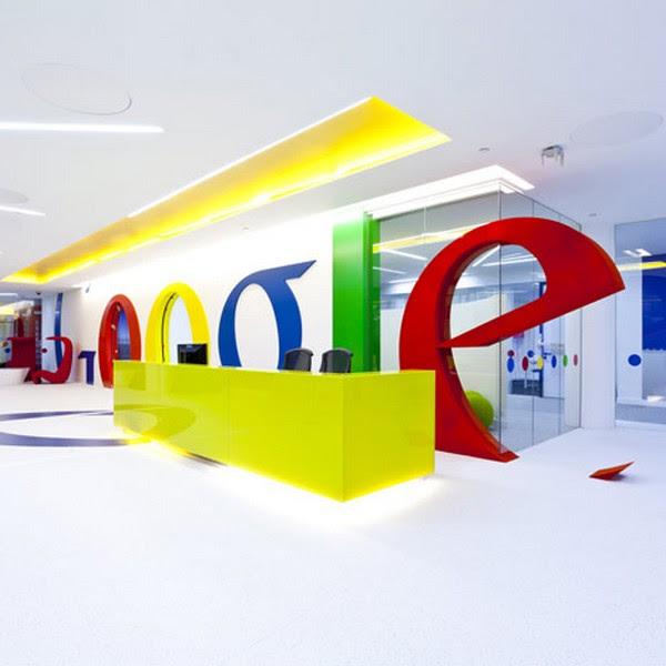 Google London Office Interior Design | The Design Home