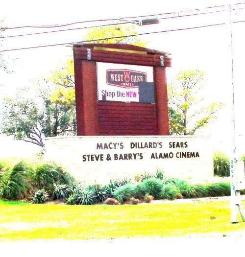 West Oaks Mall Sign