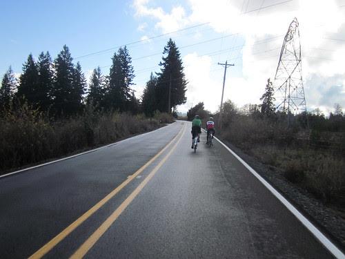 David and Kevin up ahead
