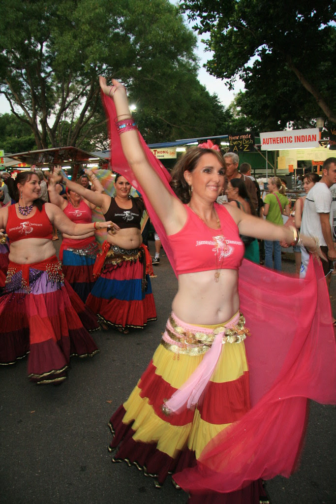 Belly Dancers Mindil Beach Market