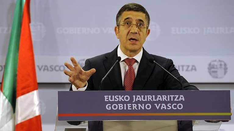 Se convoca elecciones anticipadas en el País Vasco para el 21 de Octubre