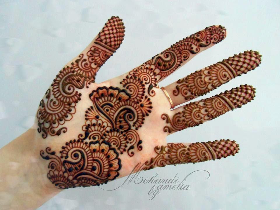Best Arabic Mehandi Designs