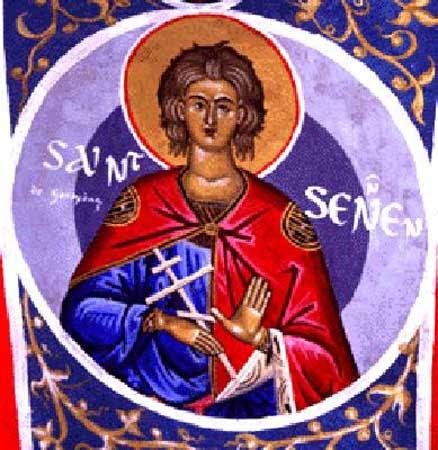 IMG ST. SENNEN, Martyr at Rome