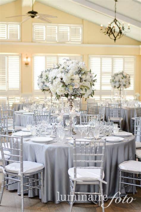 platinum linens, silver chiavari chairs, Ritz Carlton