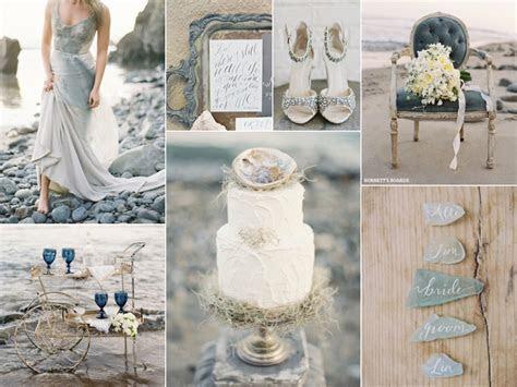 Grey Beach Wedding   Burnett's Boards   Wedding Inspiration