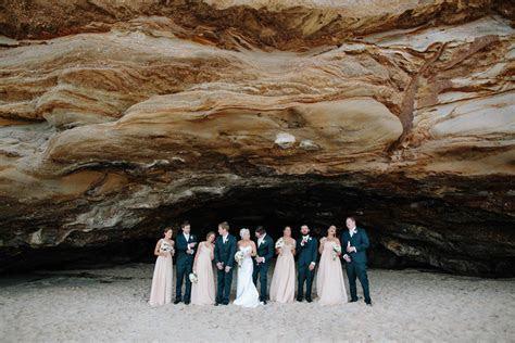 Amy and Ryan's Lake Macquarie Wedding with Caves Beach Photos!