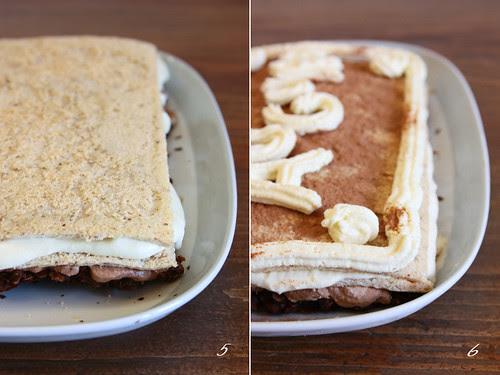 Torta bavarese - passi 5 e 6