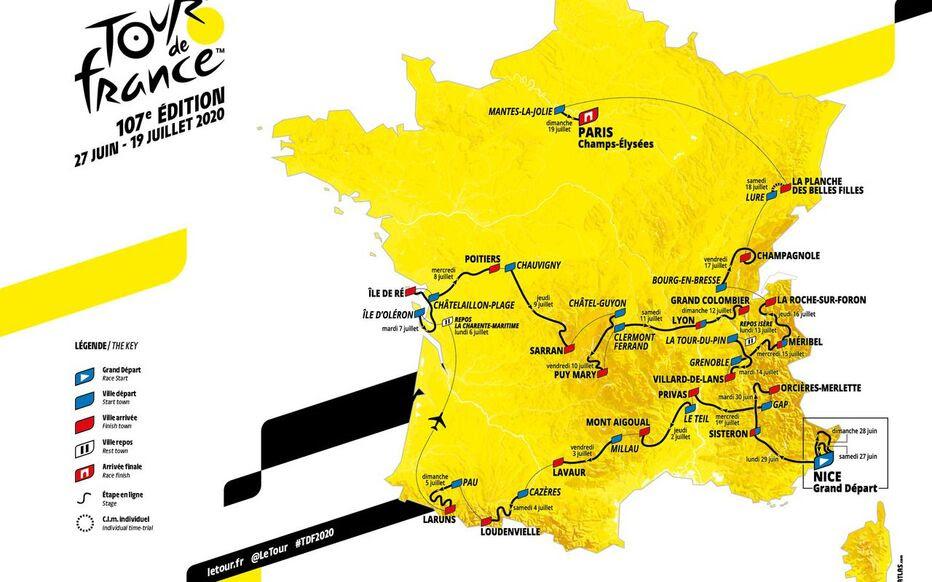 Tour De France 2020 Une édition à La Hauteur Le Parisien