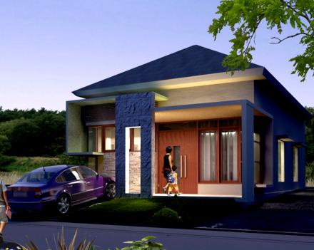 Rumah Minimalis Atap Limas