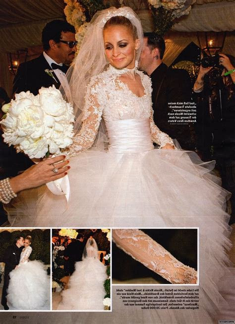 Nicole Richie Wedding Dress Knock Off   Dream Wedding