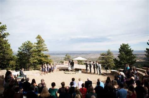 Mountain Wedding at Sunrise Amphitheater {Two One Photography}