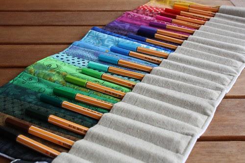 'Pencil' roll
