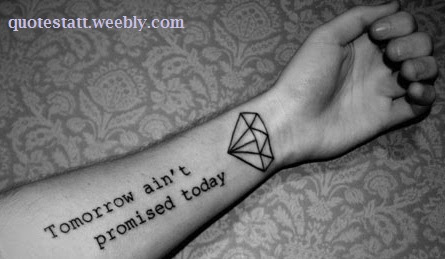 Quotes For Diamond Tattoo Quotestatt
