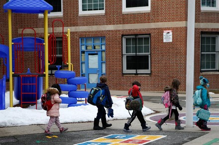 Republican governors are ordering schools to reopen, buoyed by declining cases and C.D.C. advice.