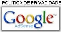 """""""Política de Privacidade - Google AdSense"""""""