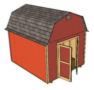 Nyi Imas Free 10 X12 Shed Plans Sketchup Tutorial
