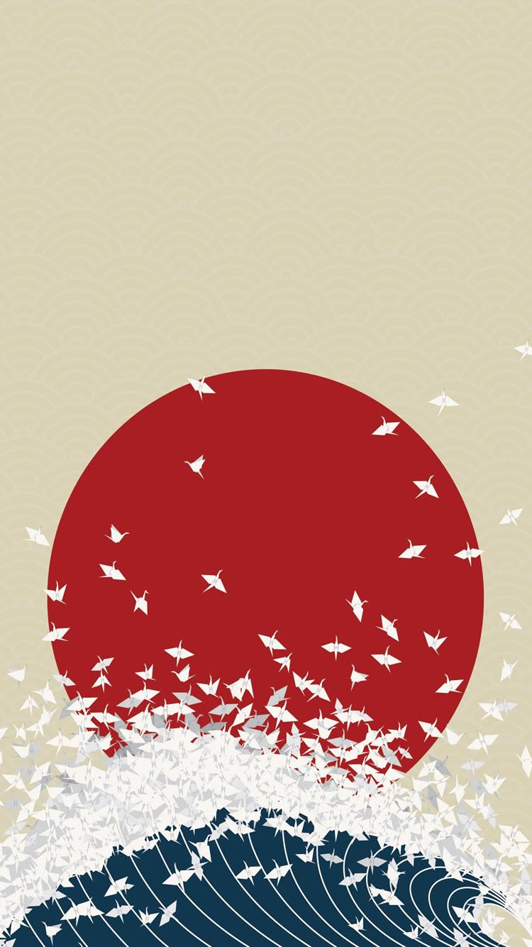 折り紙日本はサンウエーブiphone8壁紙ライジング Iphoneチーズ