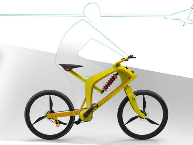 Bicicleta conceitual faz troca de marchas automaticamente