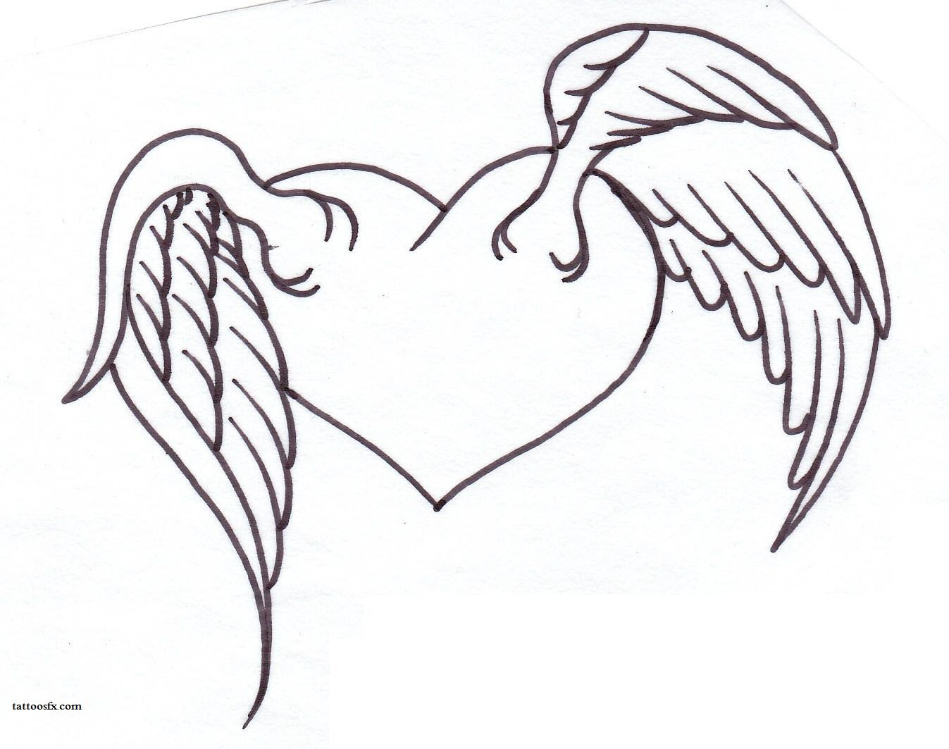 Angel Wings And Halo Drawing At Getdrawingscom Free For Personal