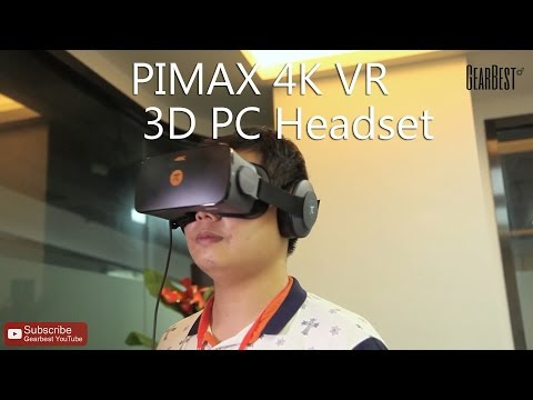 Review: PIMAX 4K HMD VR Headset With Coupon: LHPIMAX for $359