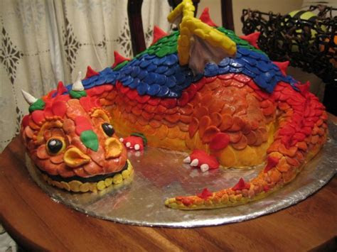 Dragon Cakes ? Decoration Ideas   Little Birthday Cakes