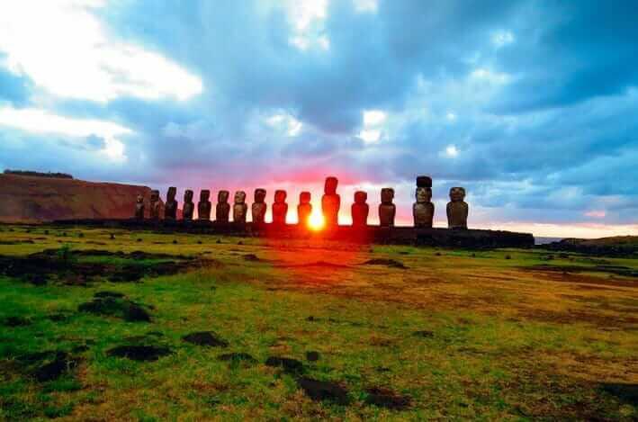 lugares turisticos de Chile Isla de Pascua