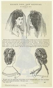 Bride's veil, new coiffure. Digital ID: 825065. New York Public Library