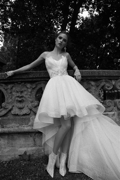 Short Wedding Dresses with Luxury Details   MODwedding