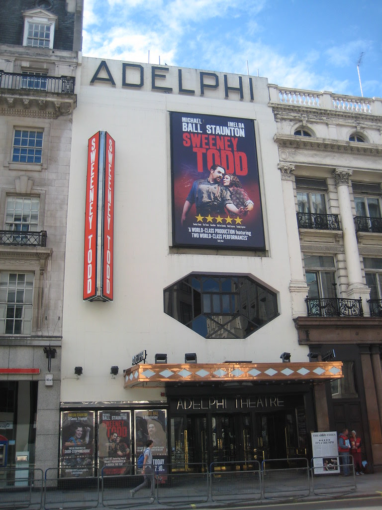 Sweeney Todd Adelphi Theatre London