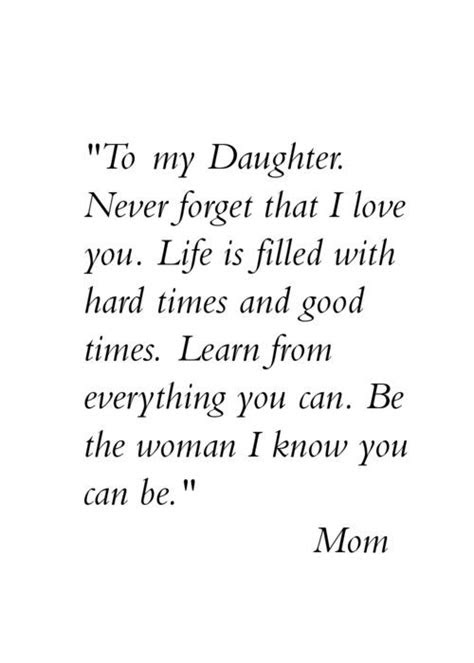 Quotes To Your Mother From Daughter