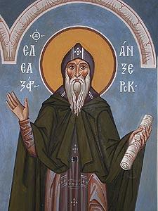 ST. ELEAZAR of Anzersk Island, Solovki