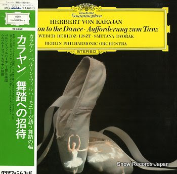 KARAJAN, HERBERTO VON invitation to the dance