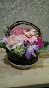 母の日アレンジメント.JPG