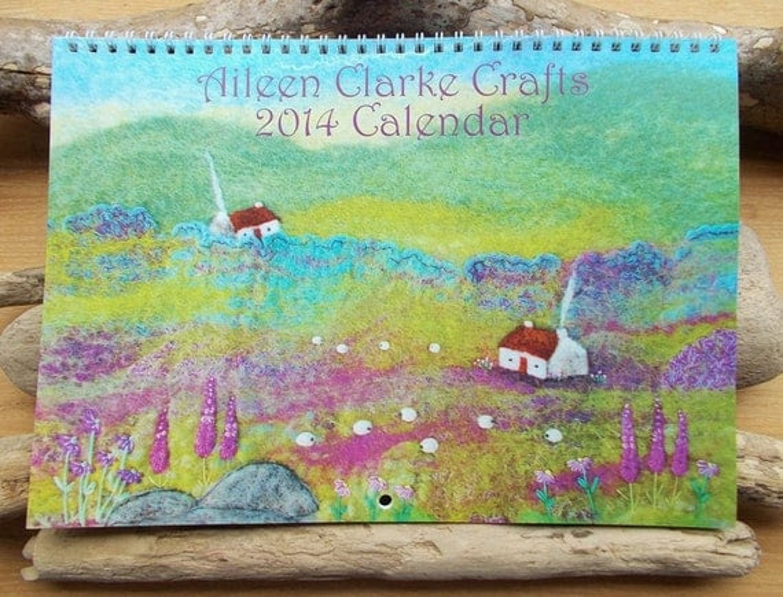 Calendar 2014 Aileen Clarke Crafts Wall Calendar