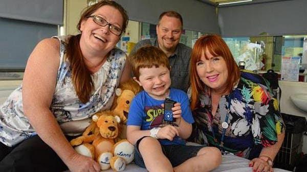 """طفل أسترالي يحصل على """"أول بانكرياس اصطناعي"""" بالعالم"""