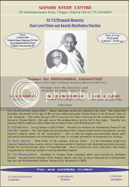 Gandhi,T.D.Tirumalai