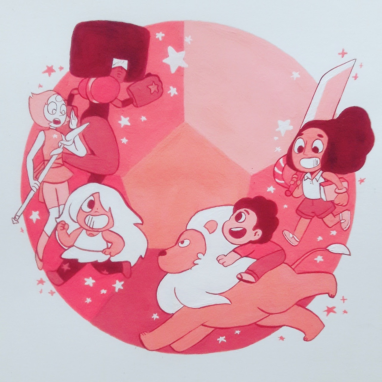 We… are the Crystal- GEMS!