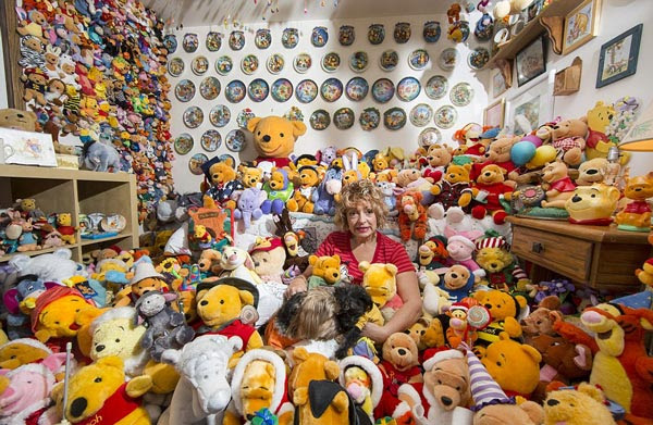 perierga.gr - Η μεγαλύτερη συλλογή από αρκουδάκι Winnie the Pooh!