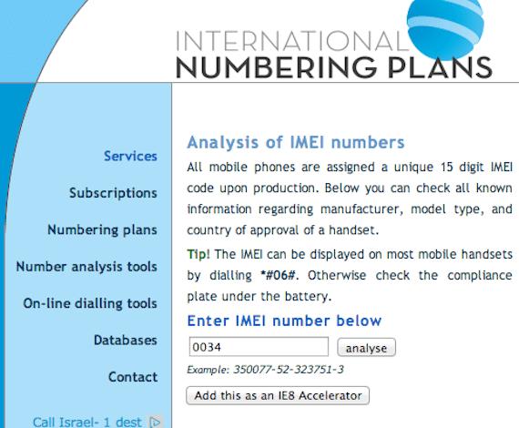 descubrir IMEI Cómo saber si el IMEI de un móvil podría ser inválido y quizás robado