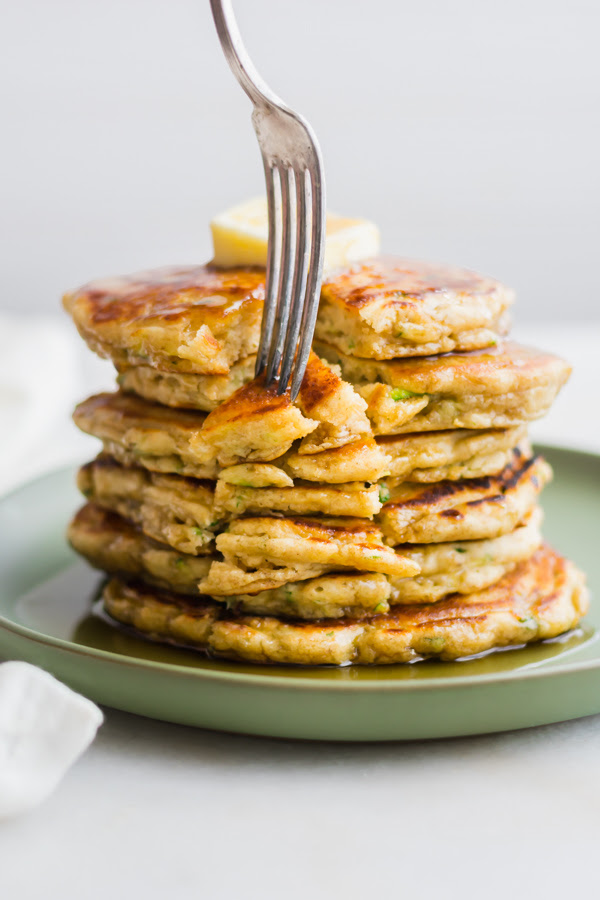 t fifty-fifty induce got to induce got an abundance of zucchini correct at nowadays to justify making these Zucchini Br zucchini breadstuff pancakes